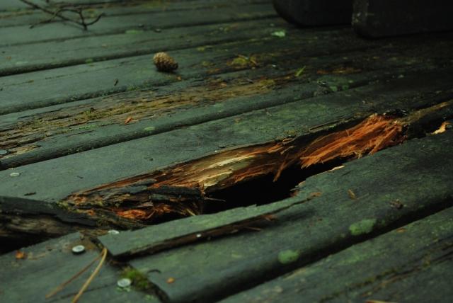 新築時に木製ウッドデッキは採用しないこと。ウッドデッキは樹脂製をオススメ