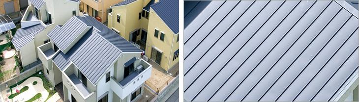 軽量で耐久性の高いガルバニウム鋼板