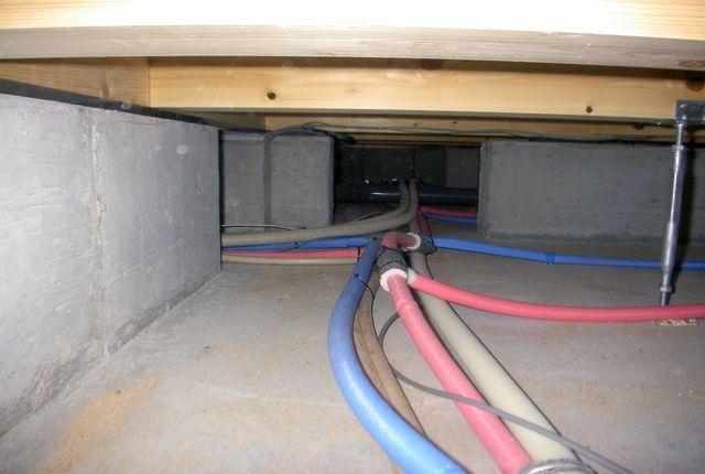 床下の換気はシロアリ対策の基本