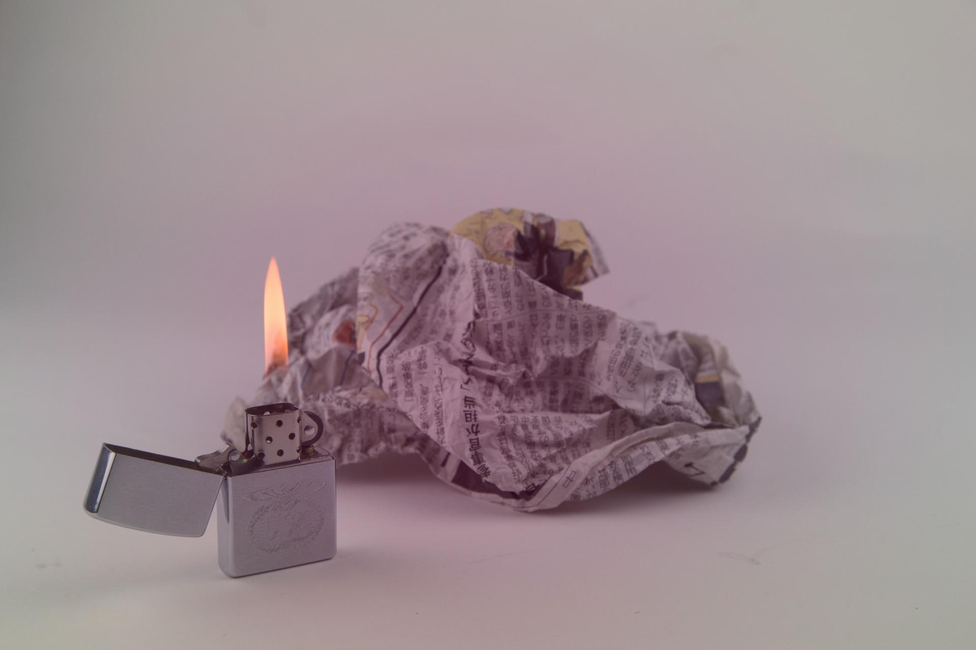 放火されにくいように、可燃物を置かない。死角を作らない。