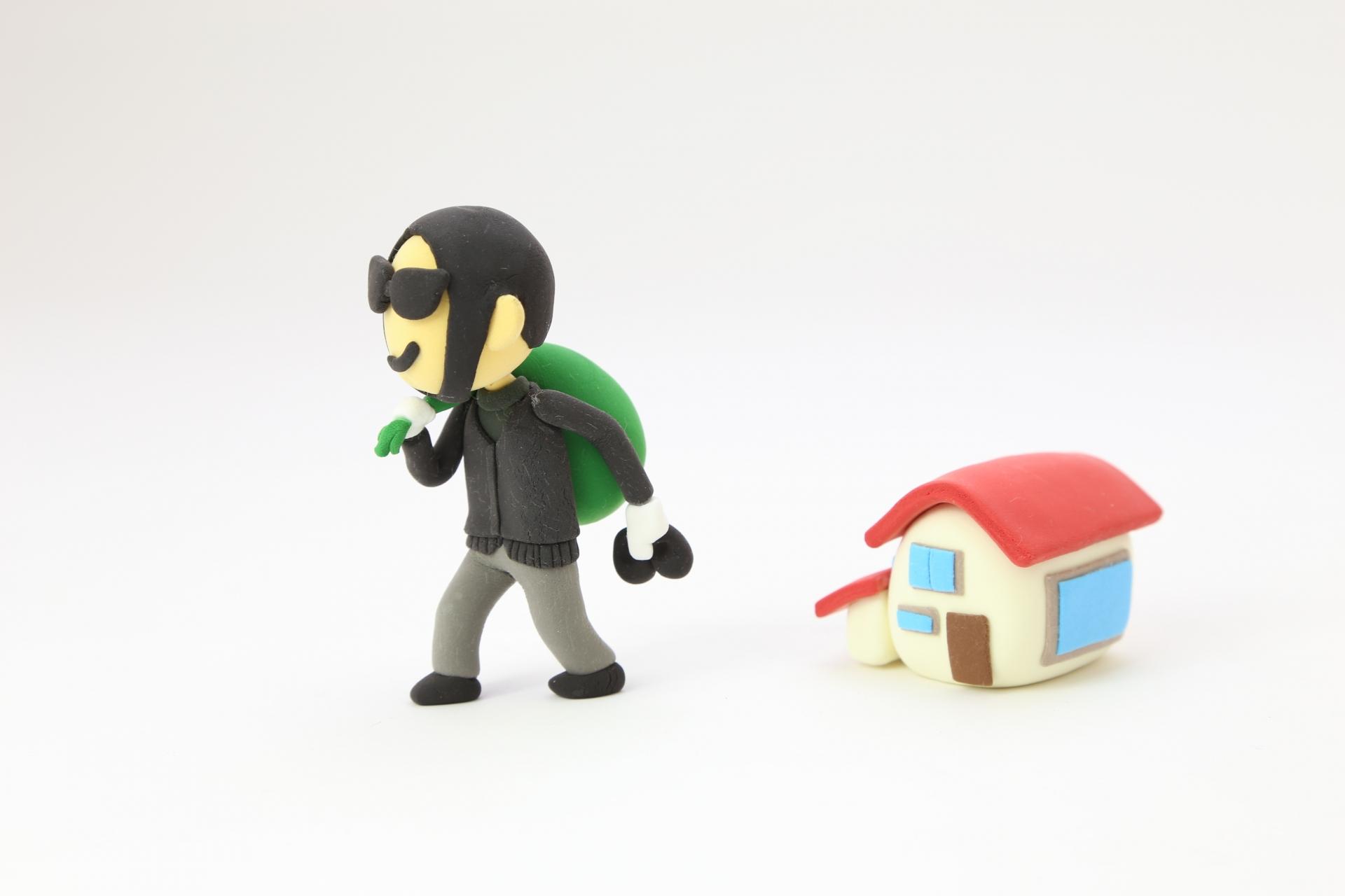 空き巣は防げる。狙われにくい家にすることが大切。