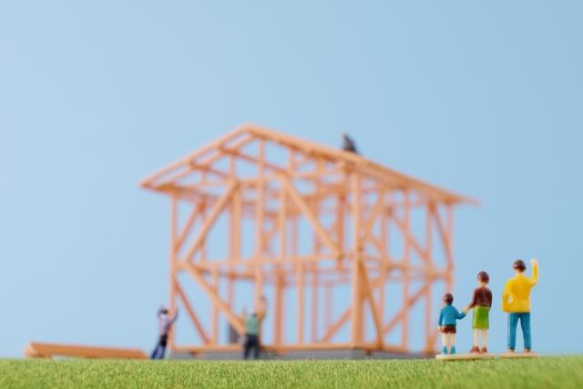 HPに施工中写真を掲載している住宅会社は施工が丁寧