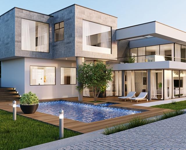 設計事務所による作品的な家