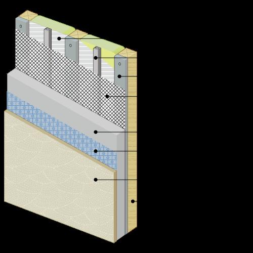 塗り壁の通気工法を推奨